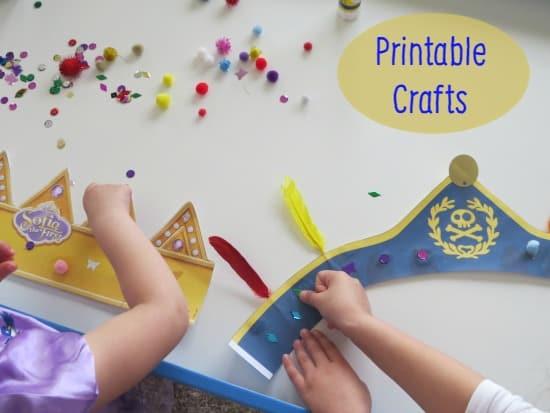 Printable Crafts Disney Junior