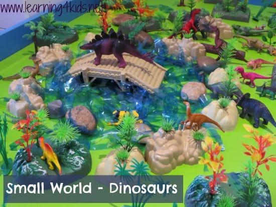Small World Play - Dinosaurs