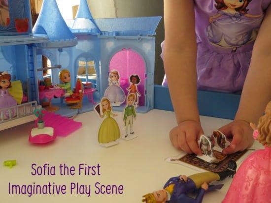 Sofia the First Imaginative Play Scene