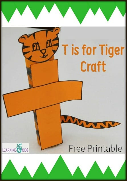 T is for Tiger Craft