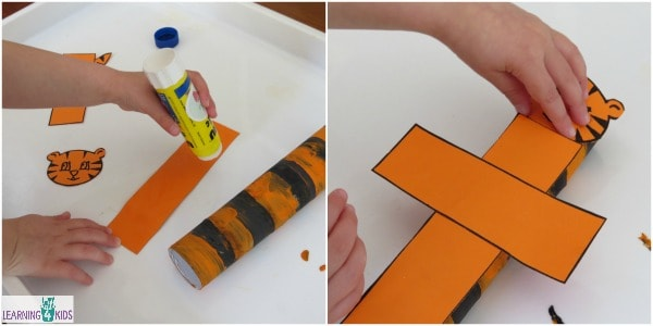 tiger craft with tube