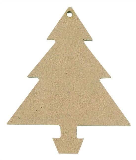 Wooden Christmas Trees.Wooden Christmas Tree Shapes Set Of 12