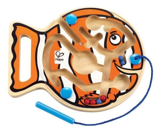 Hape Go Fish Go Magnetic Marble Maze Learning 4 Kids