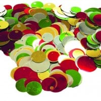Assorted Christmas Round Sequins
