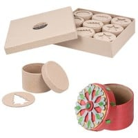 Christmas Cardboard Boxes Pack of 9