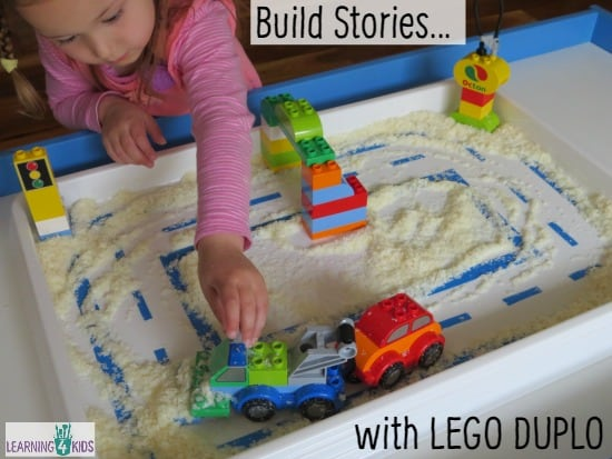 Build Stories with Lego Duplo