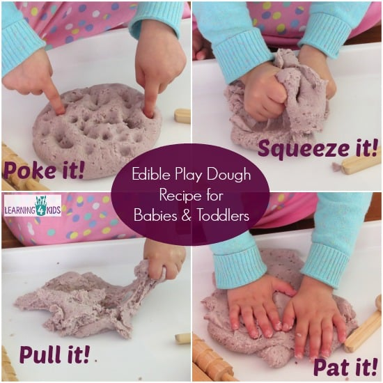 Edible Play Dough Recipe for Babies and Toddlers 2