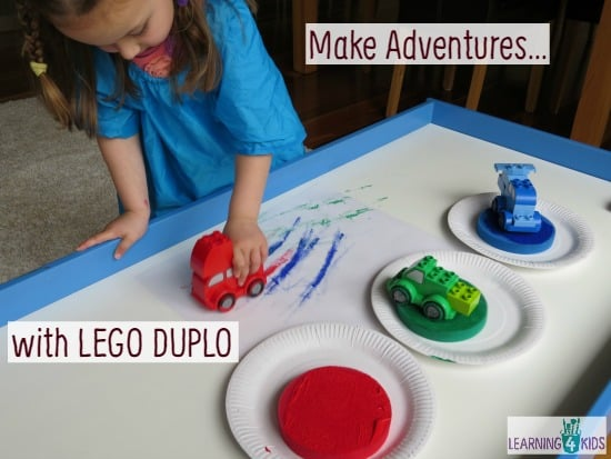 Make Adventures with Lego Duplo