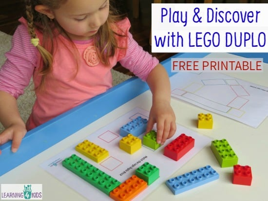 Play and Discover with Lego Duplo