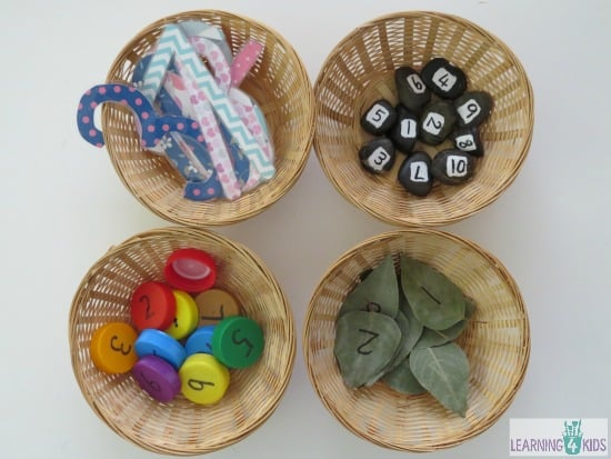 Counting Activities for Kids