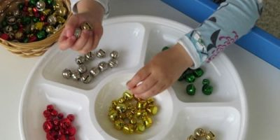 Fine Motor Fun with Christmas Bells