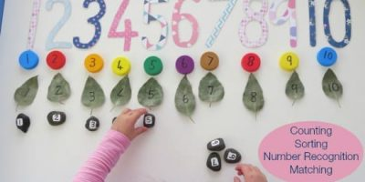Learning to count 1- 10 and number recognition