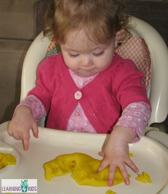 Play Dough for babies and toddlers