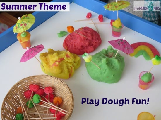 Summer Theme Play Ideas and Activities