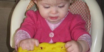 When can I introduce play dough to my baby