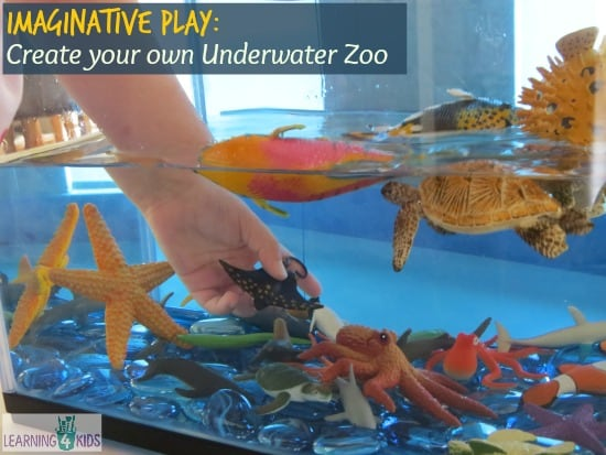 Create your own Underwater Zoo - Pretend Play