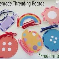 Free Printable Homemade Threading Boards