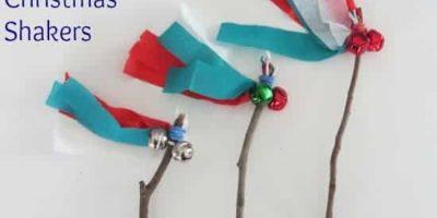 How to make twiggy Christmas shakers