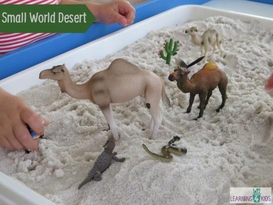 Make your own small world desert