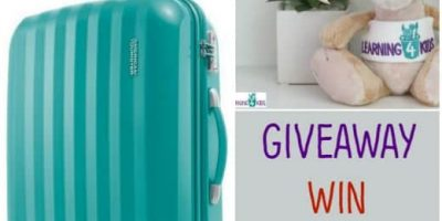 Win an american tourister suitcase