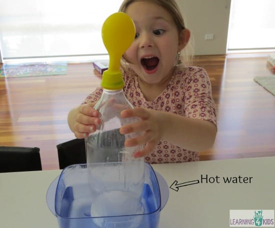Air Temperature Science Activity for Kids