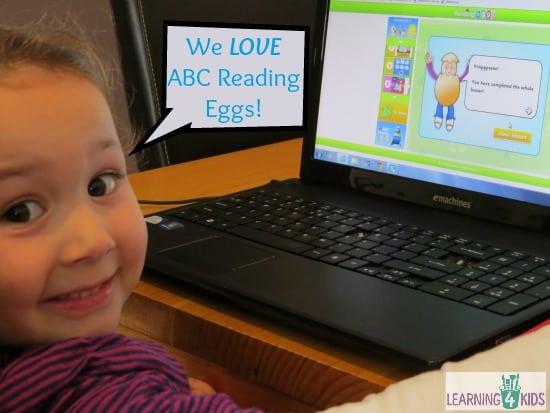 We Love ABC Reading Eggs