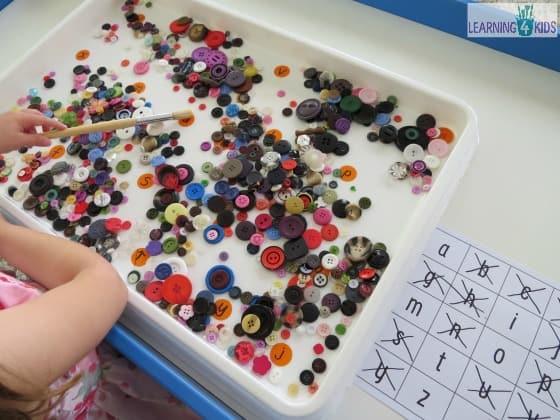 Alphabet HIde and Seek Game for Preschoolers