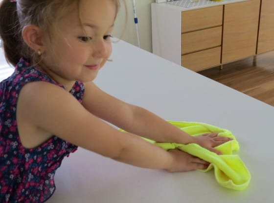 Learning benefits of cooking with kids