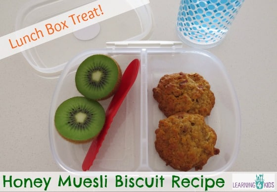 Lunch Box Ideas Honey Muesli Biscuit Recipe