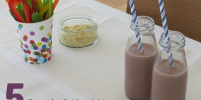 5 Simple and Healthy After School Snack Ideas for Kids