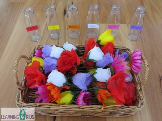 Dramatic Play with Flowers