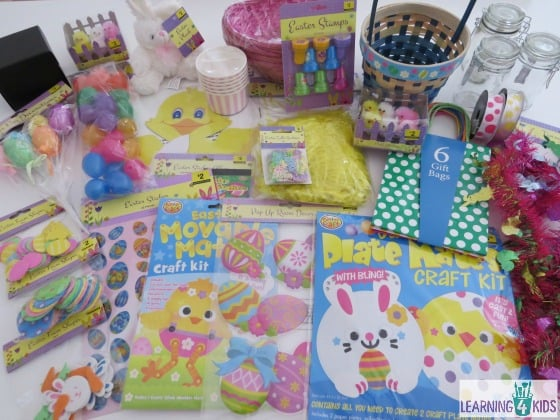 Simple easter gift ideas learning 4 kids easter art and craft supplies the reject shop negle Choice Image