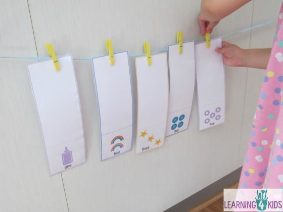 Interactive Game - counting numbers 1-10