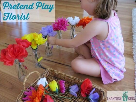 Pretend Play Florist