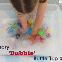Sensory Bubble Bottle Top Soup