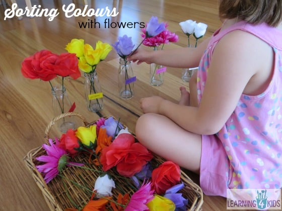 Sorting Colours with Flowers