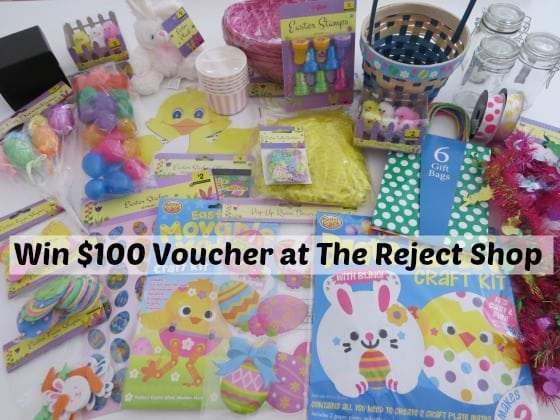 Win $100 Voucher at the Reject Shop