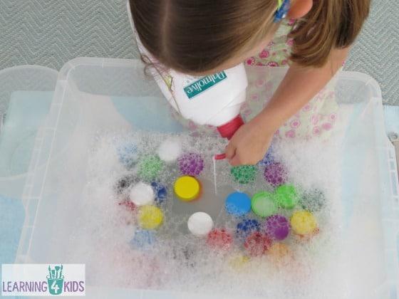 Sensory Bottle Top Bubble Soup Learning 4 Kids