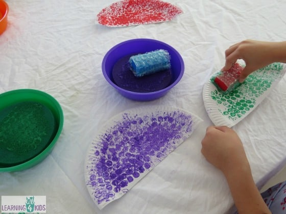 Crafts using paper plates - making a car using paper plates