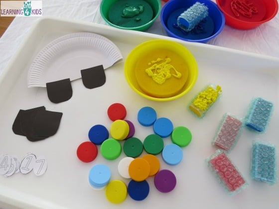 How to make a car craft activity using a pape plate