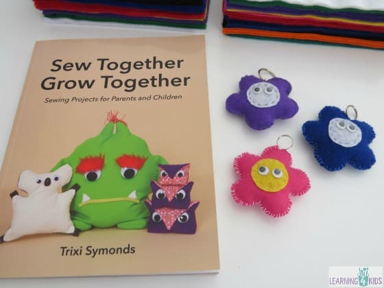 Sew Together Grow Together - simple and fun sewing projects for kids