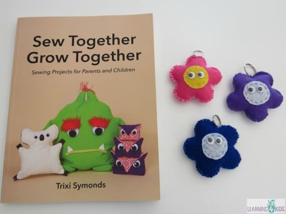 Sewing Books for Parents and Children - Sew Together Grow Together By Trixi Symonds
