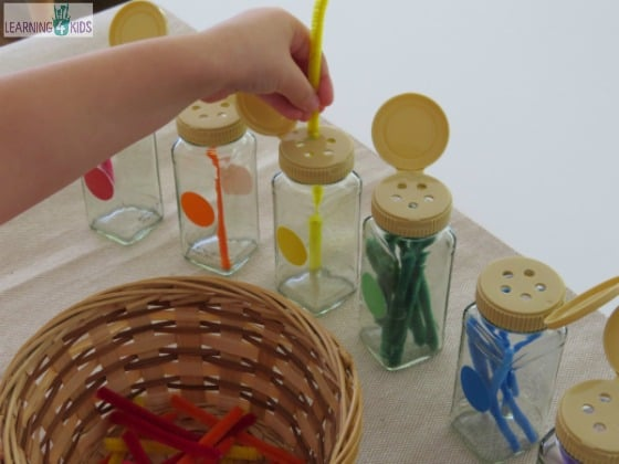 fine motor activity using pincer grasp by learning 4 kids
