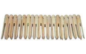 Natural Dolly Pegs Pack of 24