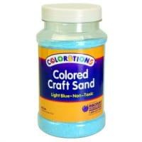 Light Blue Coloured Craft Sand