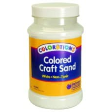 White coloured Craft Sand