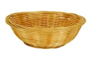 Cane Basket Round