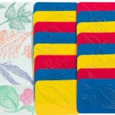Left Rubbing Plates Pack 16