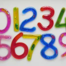 Squash-EE™ Numbers Set of 10