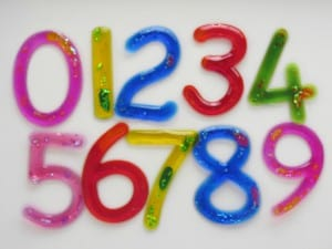 Squash-EE™ Numbers Set of 10